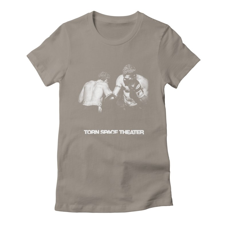 The Boxers Women's Fitted T-Shirt by Torn Space Theater's Artist Shop