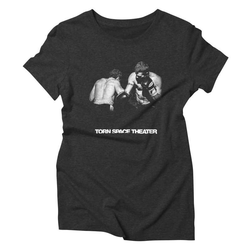 The Boxers Women's Triblend T-shirt by Torn Space Theater's Artist Shop