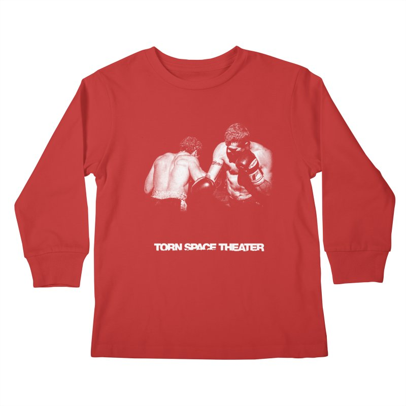 The Boxers Kids Longsleeve T-Shirt by Torn Space Theater's Artist Shop