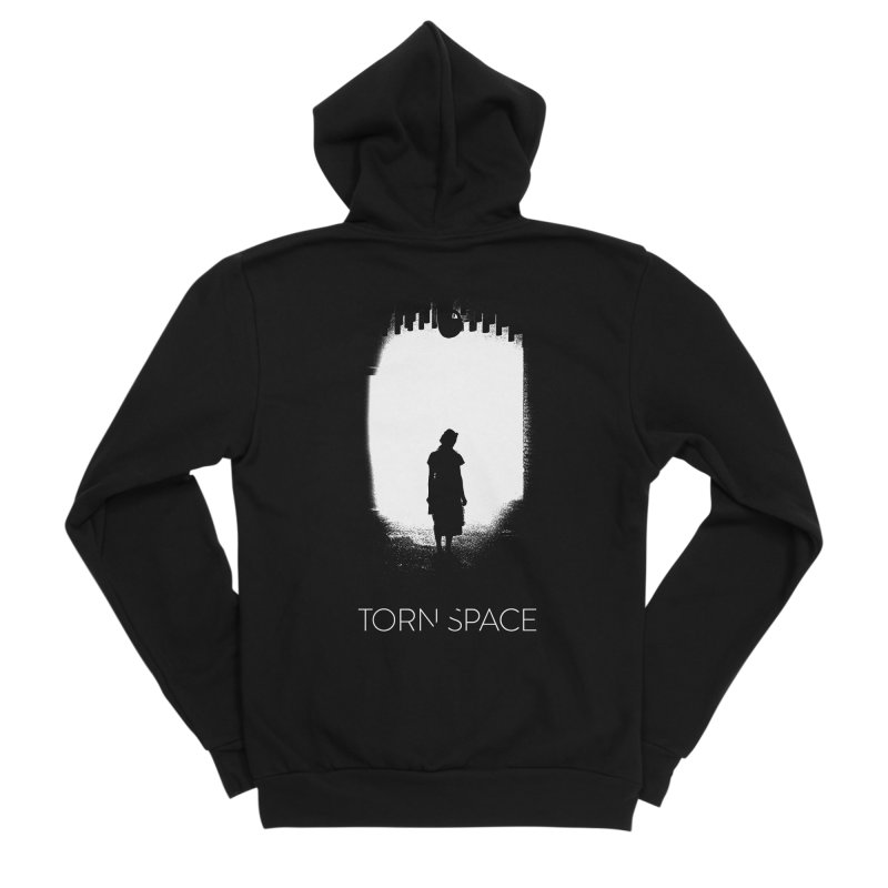 Furnace Silhouette Men's Sponge Fleece Zip-Up Hoody by Torn Space Theater Merch