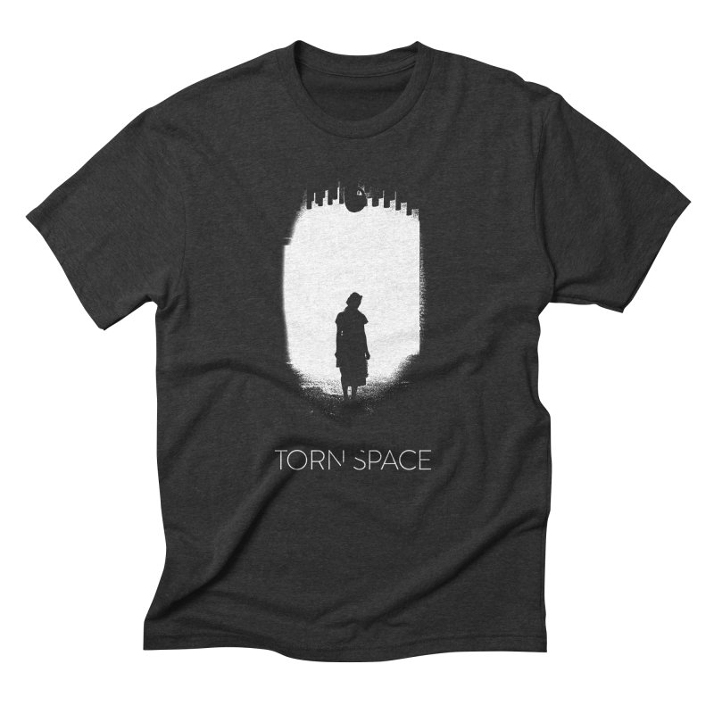 Furnace Silhouette in Men's Triblend T-Shirt Heather Onyx by Torn Space Theater Merch