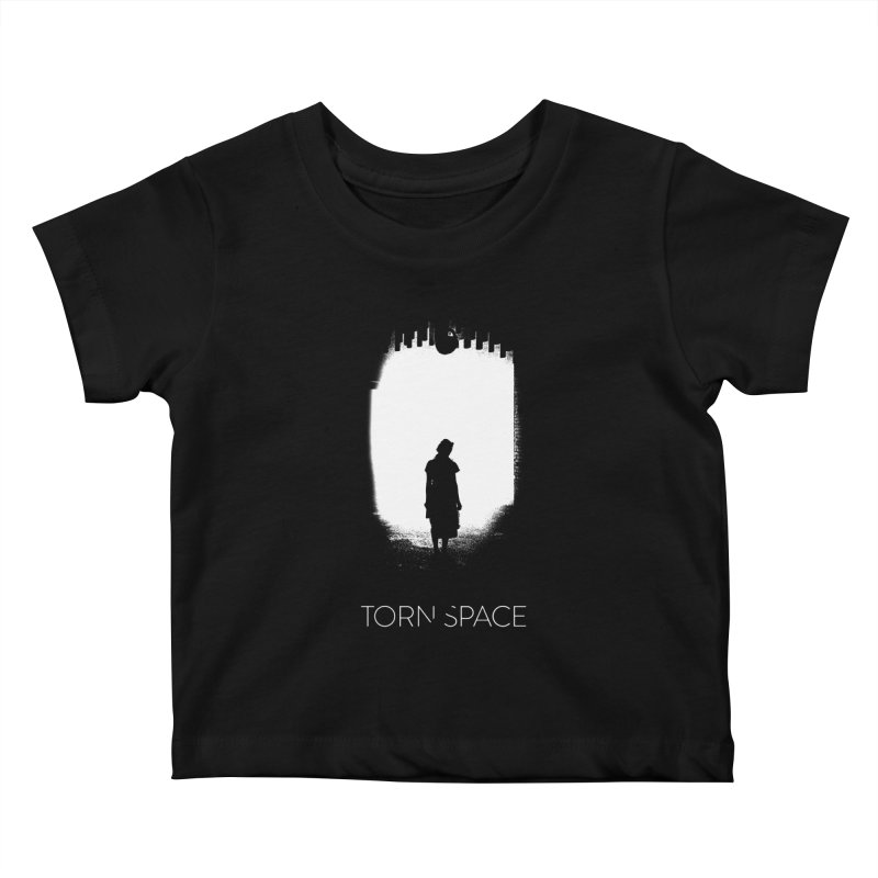 Furnace Silhouette Kids Baby T-Shirt by Torn Space Theater Merch