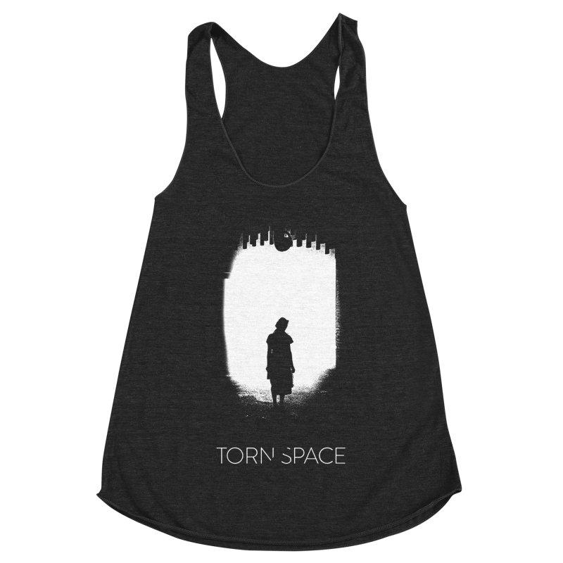 Furnace Silhouette Women's Racerback Triblend Tank by Torn Space Theater Merch