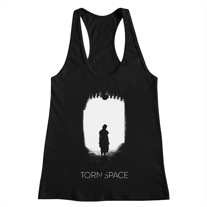 Furnace Silhouette Women's Racerback Tank by Torn Space Theater Merch