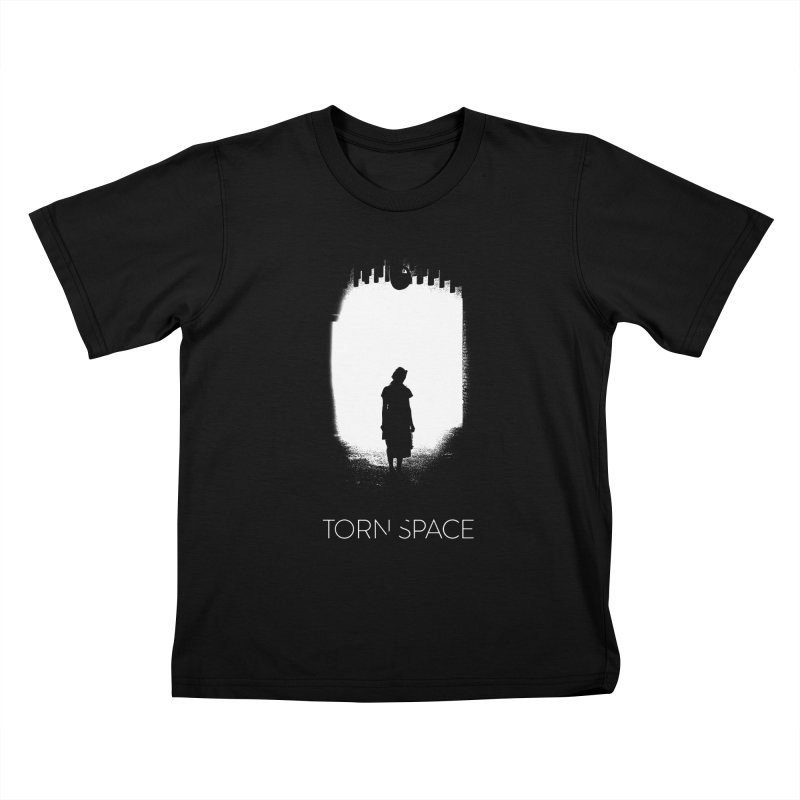 Furnace Silhouette Kids T-Shirt by Torn Space Theater Merch
