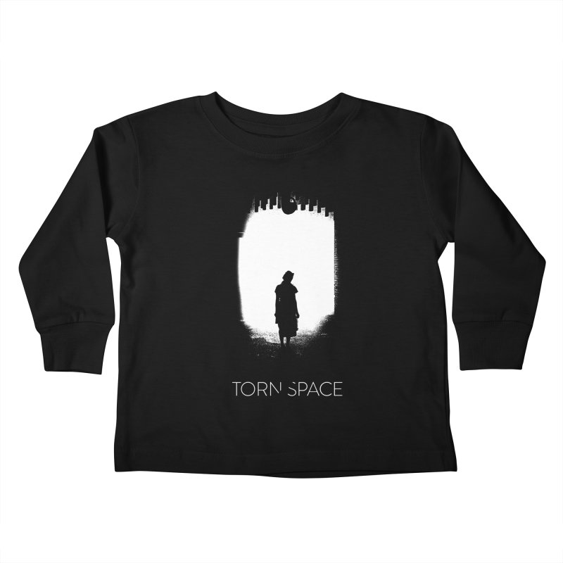 Furnace Silhouette Kids Toddler Longsleeve T-Shirt by Torn Space Theater Merch