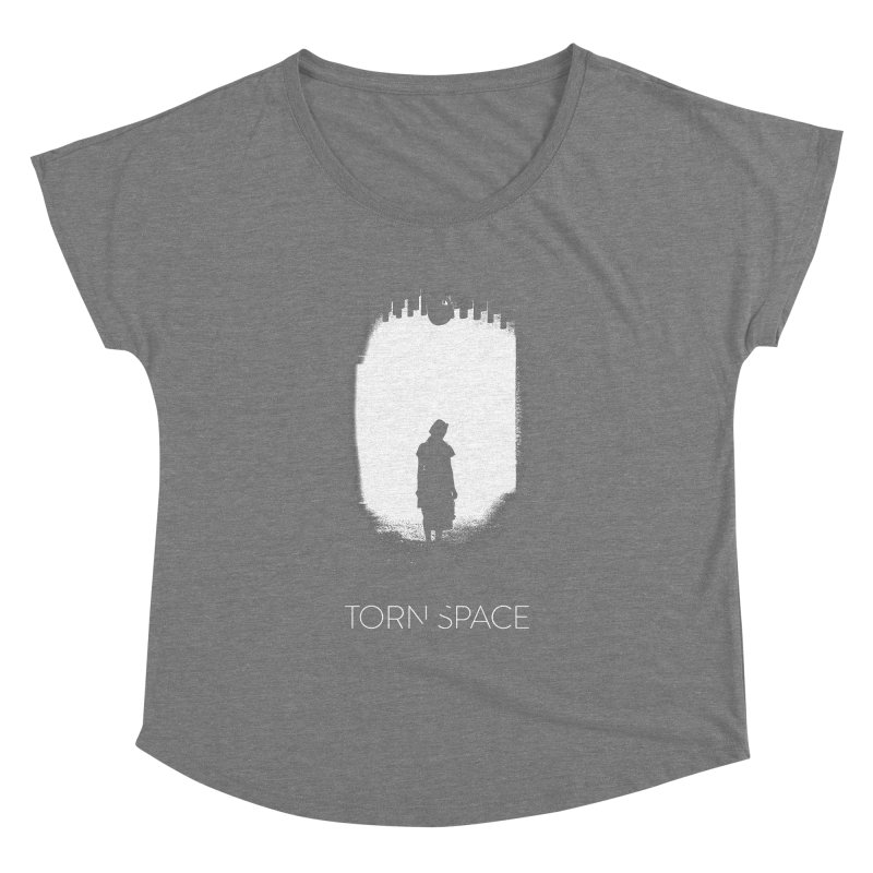 Furnace Silhouette Women's Dolman Scoop Neck by Torn Space Theater Merch