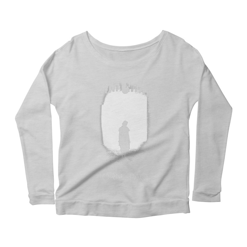Furnace Silhouette Women's Scoop Neck Longsleeve T-Shirt by Torn Space Theater Merch