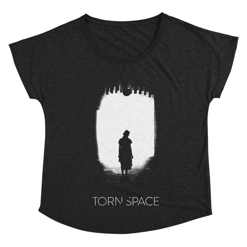 Furnace Silhouette Women's Dolman Scoop Neck by Torn Space Theater Merch