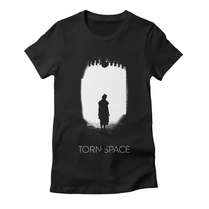 Furnace Silhouette Women's Fitted T-Shirt by Torn Space Theater Merch