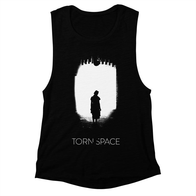 Furnace Silhouette Women's Muscle Tank by Torn Space Theater Merch