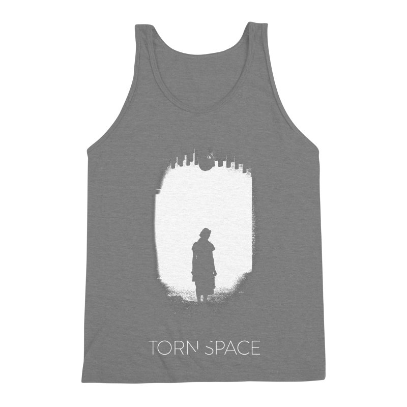 Furnace Silhouette Men's Triblend Tank by Torn Space Theater Merch