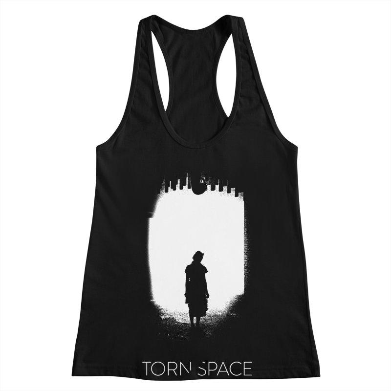 Furnace Silhouette Women's Racerback Tank by Torn Space Theater Merch
