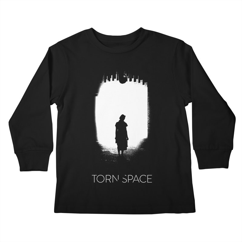 Furnace Silhouette Kids Longsleeve T-Shirt by Torn Space Theater Merch