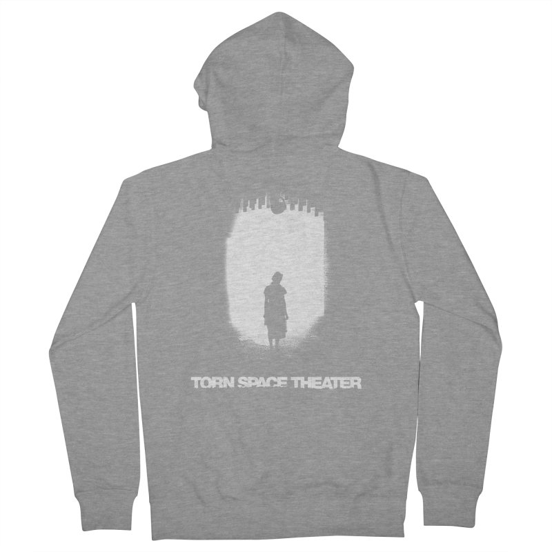 Furnace Silhouette Women's Zip-Up Hoody by Torn Space Theater's Artist Shop
