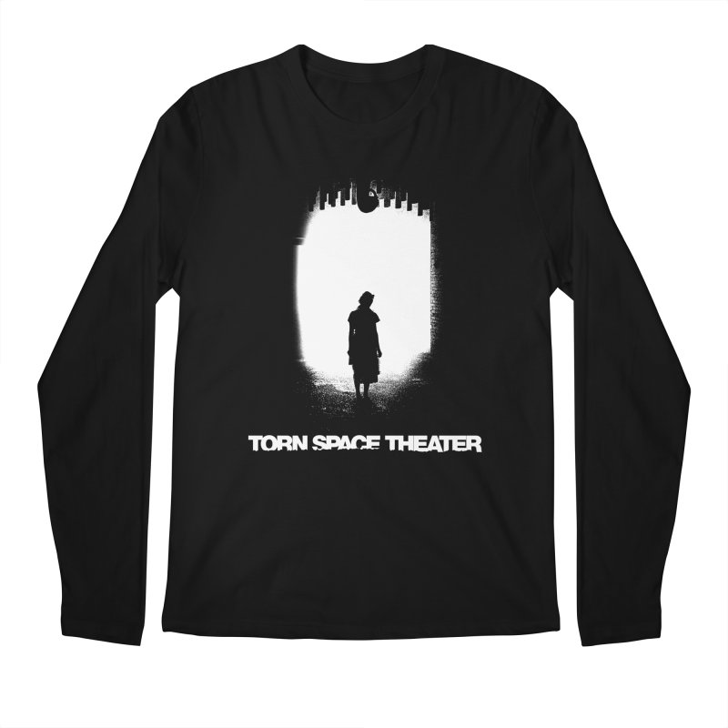 Furnace Silhouette Men's Longsleeve T-Shirt by Torn Space Theater's Artist Shop