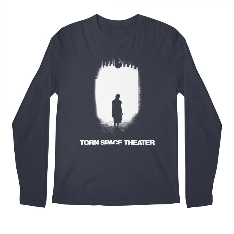 Furnace Silhouette Men's Longsleeve T-Shirt by Torn Space Theater's Artist Shop