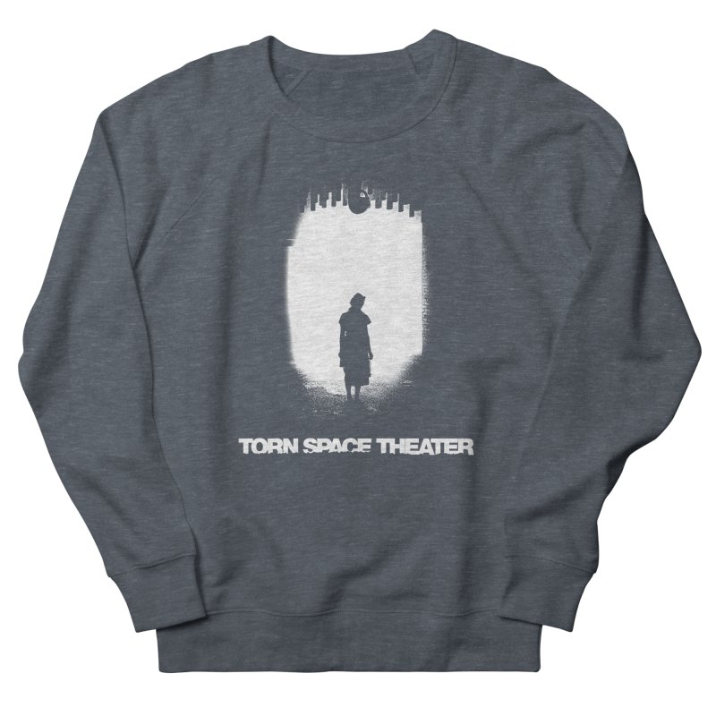 Furnace Silhouette Women's French Terry Sweatshirt by Torn Space Theater's Artist Shop