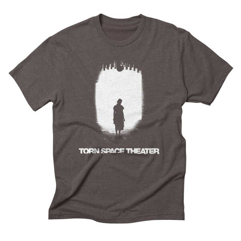 Furnace Silhouette Men's Triblend T-Shirt by Torn Space Theater's Artist Shop