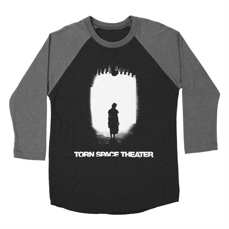 Furnace Silhouette Men's Baseball Triblend Longsleeve T-Shirt by Torn Space Theater's Artist Shop
