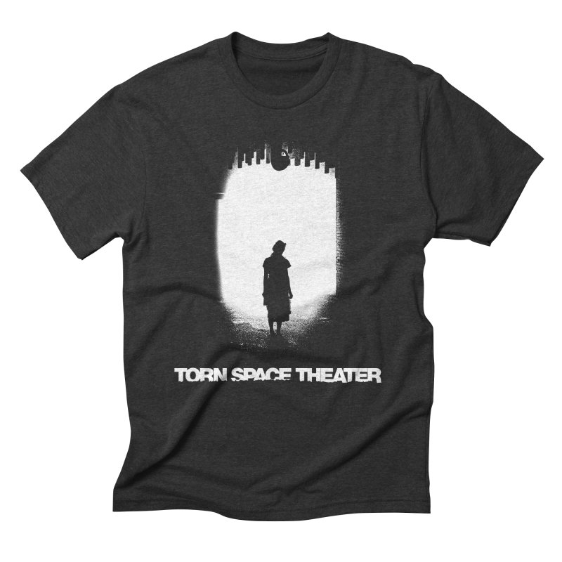 Furnace Silhouette in Men's Triblend T-shirt Heather Onyx by Torn Space Theater's Artist Shop