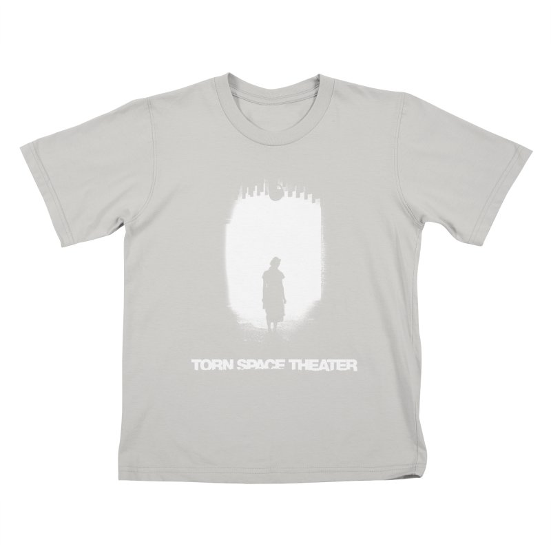 Furnace Silhouette Kids T-Shirt by Torn Space Theater's Artist Shop