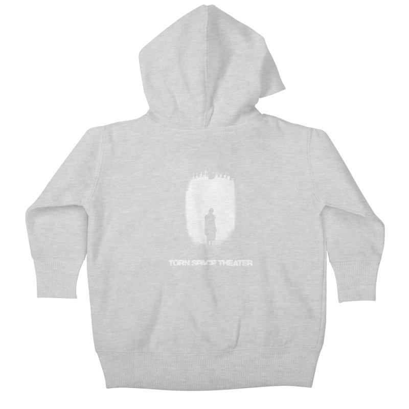 Furnace Silhouette Kids Baby Zip-Up Hoody by Torn Space Theater's Artist Shop