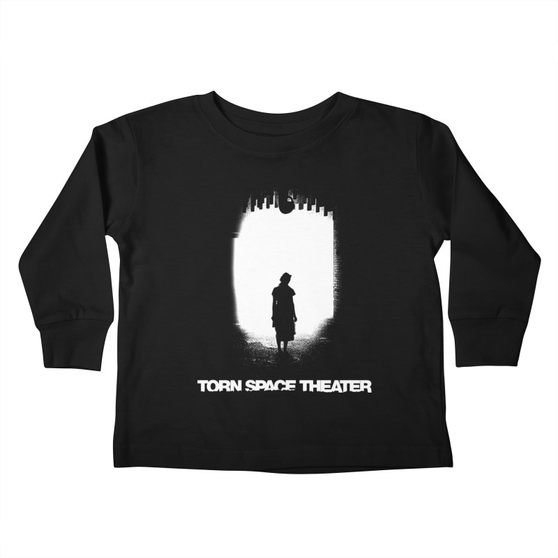 Furnace Silhouette Kids Toddler Longsleeve T-Shirt by Torn Space Theater's Artist Shop