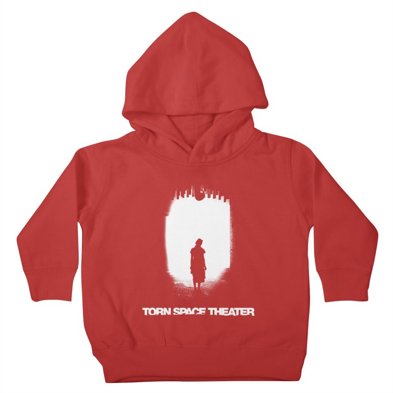 Furnace Silhouette Kids Toddler Pullover Hoody by Torn Space Theater's Artist Shop
