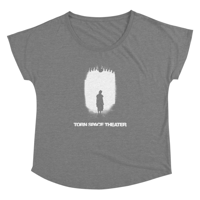 Furnace Silhouette Women's Dolman by Torn Space Theater's Artist Shop