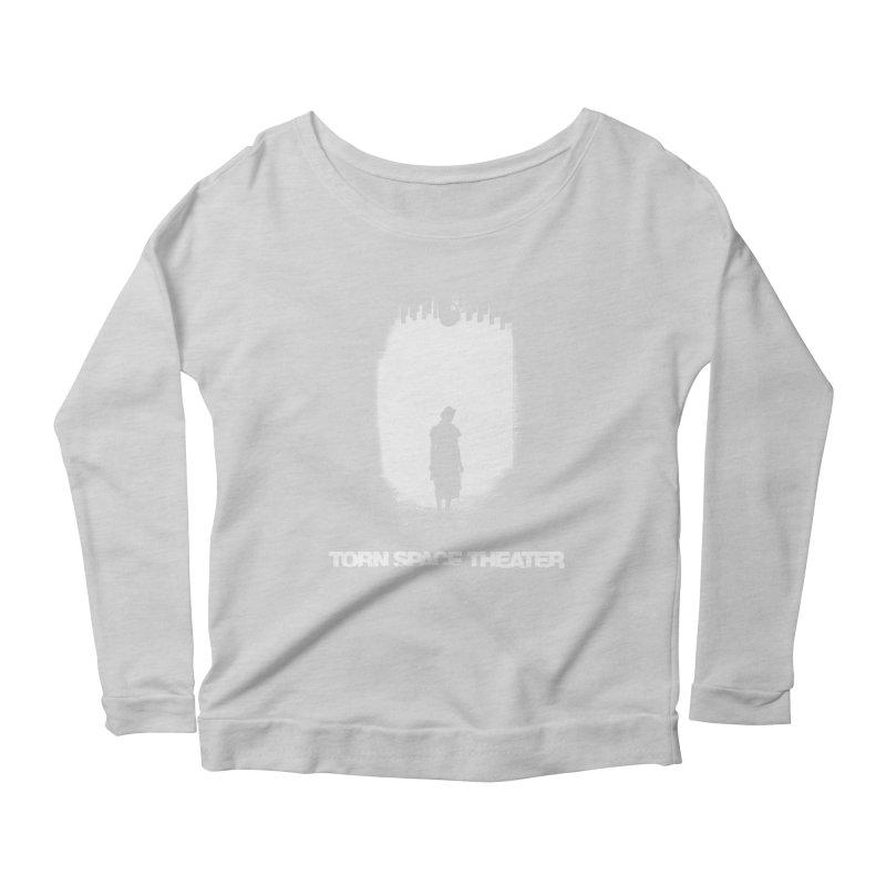 Furnace Silhouette Women's Scoop Neck Longsleeve T-Shirt by Torn Space Theater's Artist Shop