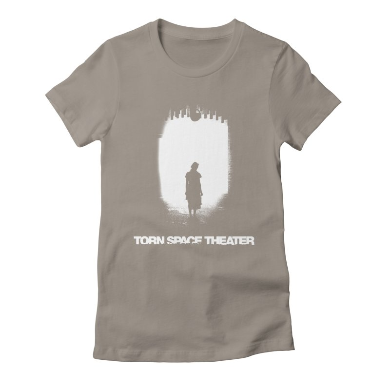 Furnace Silhouette Women's Fitted T-Shirt by Torn Space Theater's Artist Shop