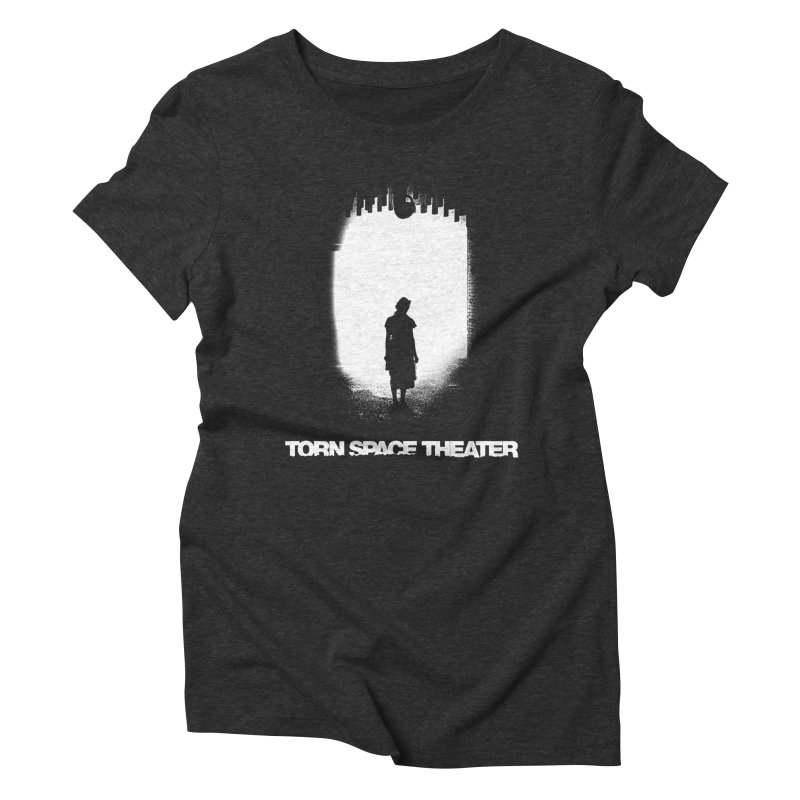 Furnace Silhouette Women's Triblend T-Shirt by Torn Space Theater's Artist Shop