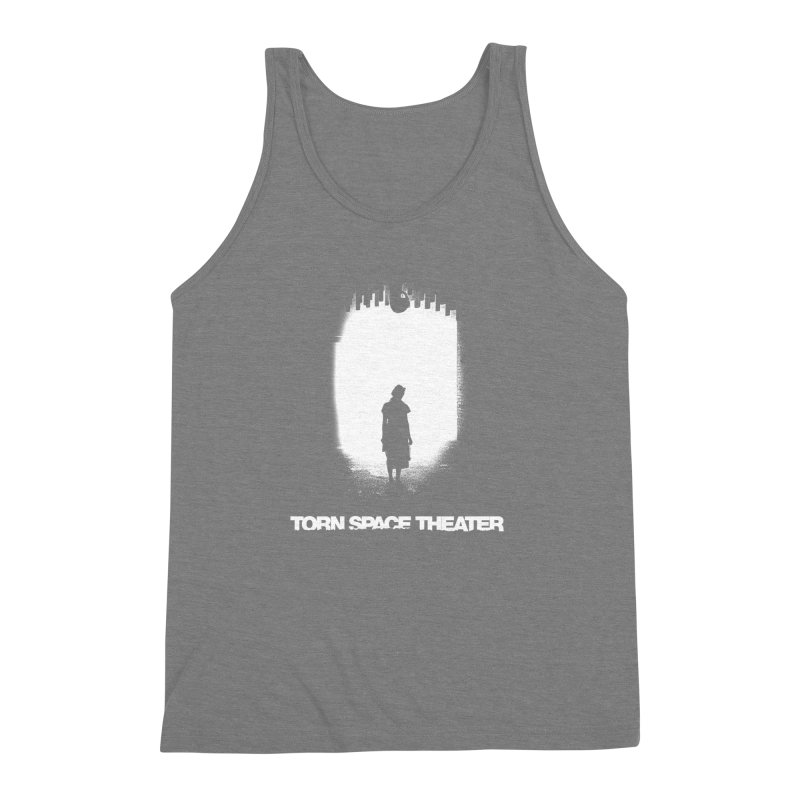 Furnace Silhouette Men's Triblend Tank by Torn Space Theater's Artist Shop