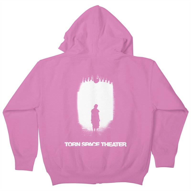 Furnace Silhouette Kids Zip-Up Hoody by Torn Space Theater's Artist Shop