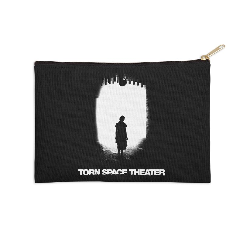 Furnace Silhouette Accessories Zip Pouch by Torn Space Theater's Artist Shop