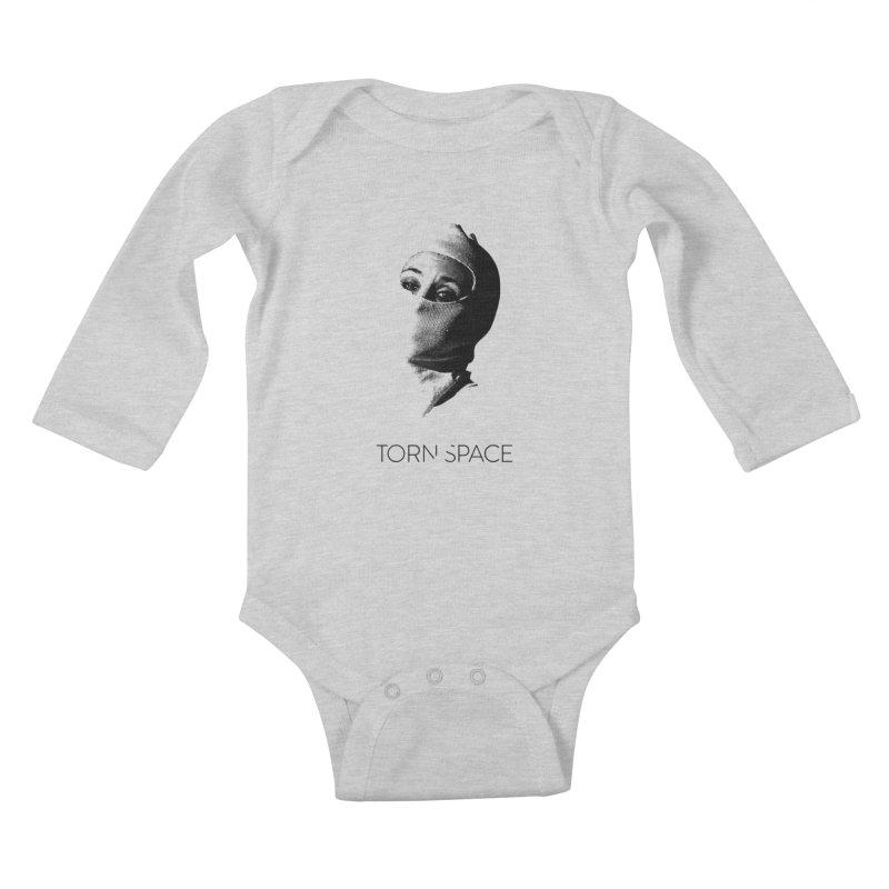 Balaklava (w/ logo) Kids Baby Longsleeve Bodysuit by Torn Space Theater Merch