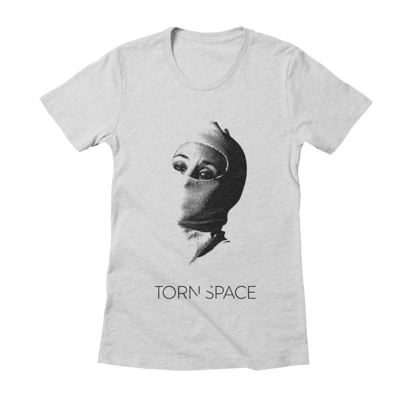 Balaklava (w/ logo) Women's Fitted T-Shirt by Torn Space Theater Merch