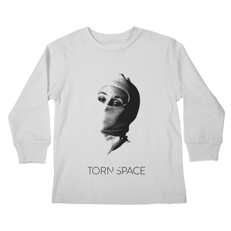 Balaklava (w/ logo) Kids Longsleeve T-Shirt by Torn Space Theater Merch