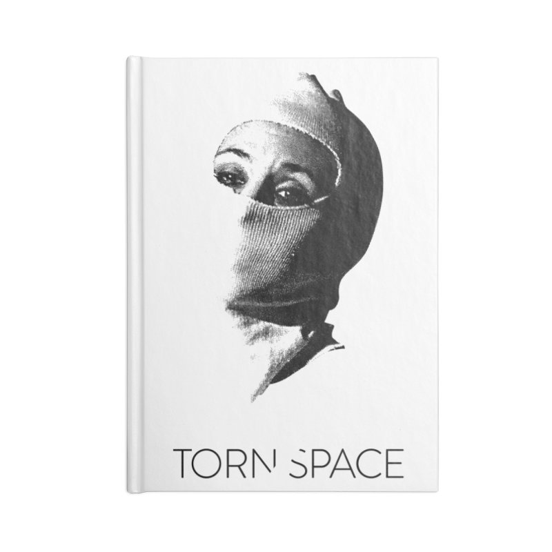 Balaklava (w/ logo) Accessories Lined Journal Notebook by Torn Space Theater Merch