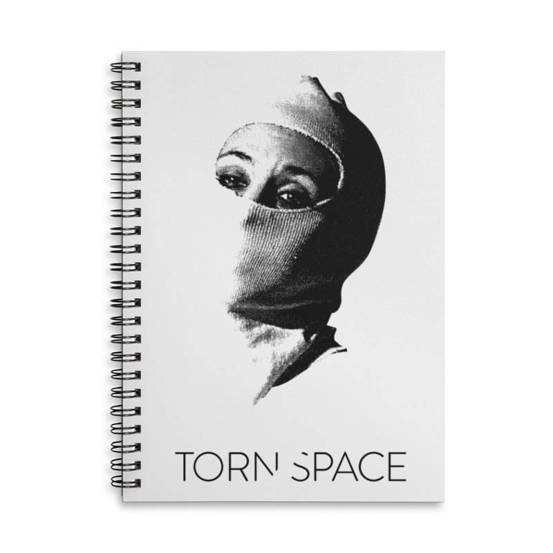 Balaklava (w/ logo) Accessories Lined Spiral Notebook by Torn Space Theater Merch