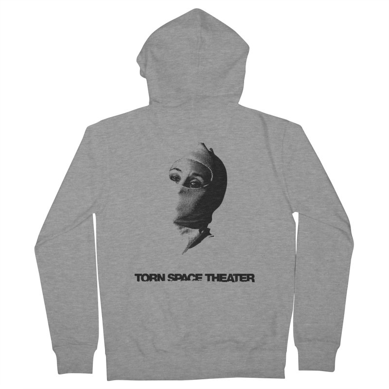 Balaklava (w/ logo) Women's French Terry Zip-Up Hoody by Torn Space Theater's Artist Shop