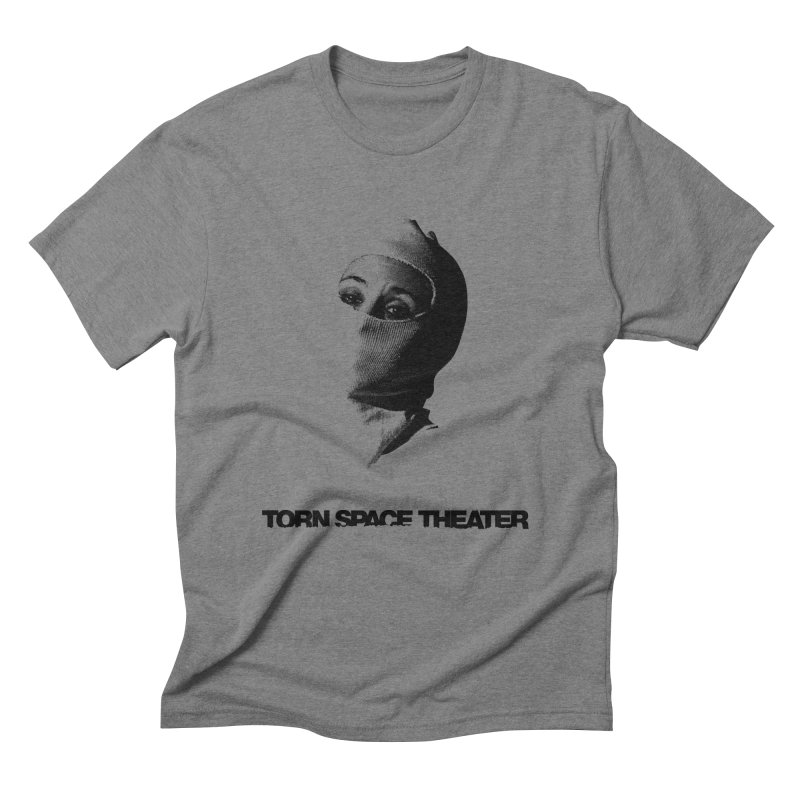 Balaklava (w/ logo) Men's Triblend T-shirt by Torn Space Theater's Artist Shop