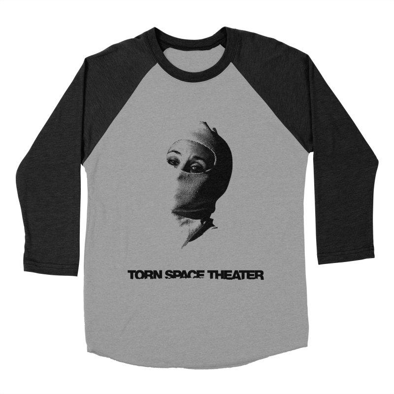 Balaklava (w/ logo) Men's Baseball Triblend T-Shirt by Torn Space Theater's Artist Shop
