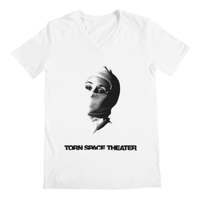 Balaklava (w/ logo) Men's V-Neck by Torn Space Theater's Artist Shop