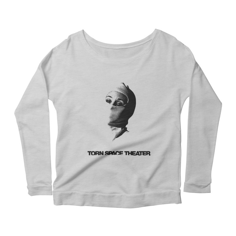 Balaklava (w/ logo) Women's Scoop Neck Longsleeve T-Shirt by Torn Space Theater's Artist Shop