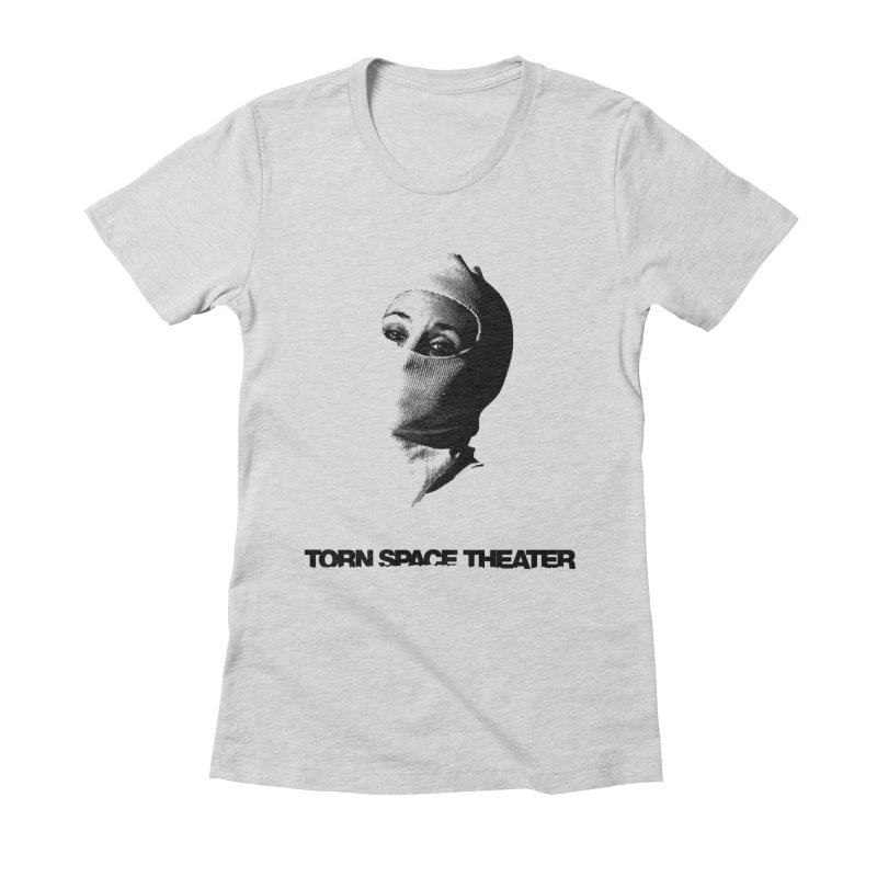 Balaklava (w/ logo) Women's Fitted T-Shirt by Torn Space Theater's Artist Shop
