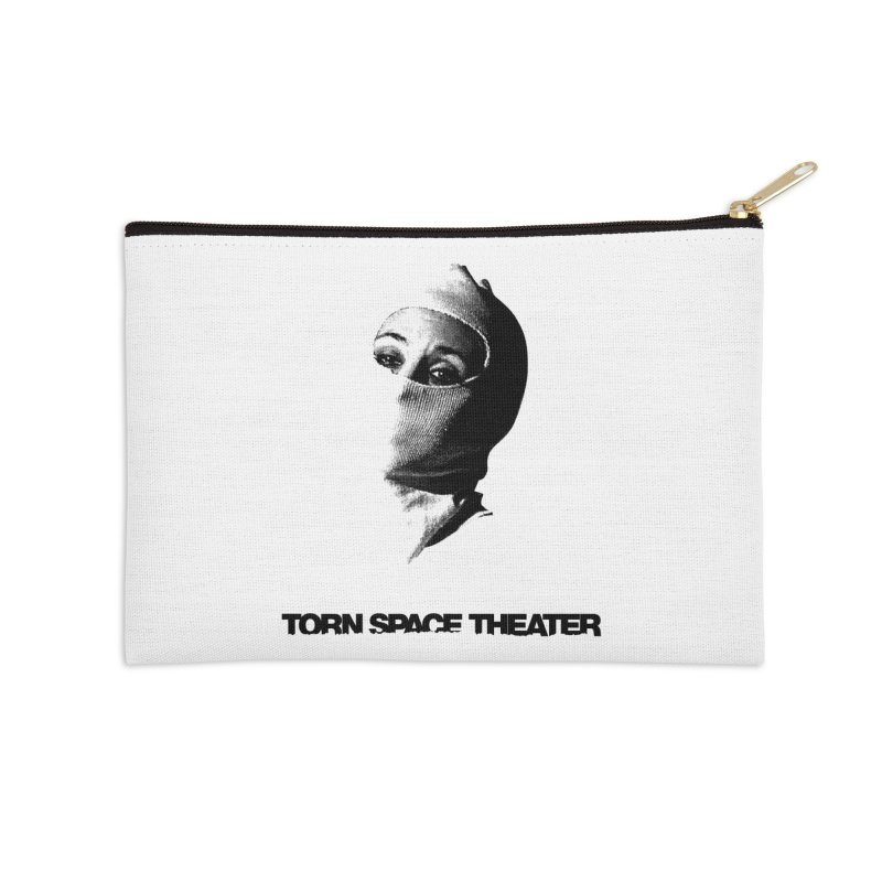 Balaklava (w/ logo) Accessories Zip Pouch by Torn Space Theater's Artist Shop