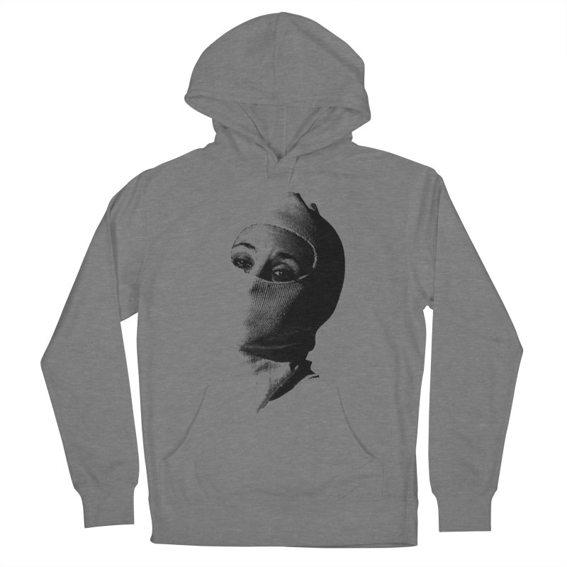 Balaklava Women's French Terry Pullover Hoody by Torn Space Theater Merch