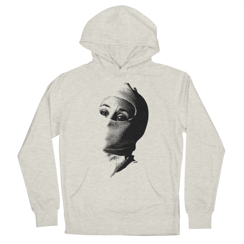 Balaklava Women's French Terry Pullover Hoody by Torn Space Theater's Artist Shop